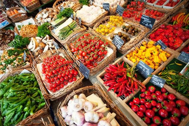 Mercados de alimentos frescos y procesados europeos son una ...