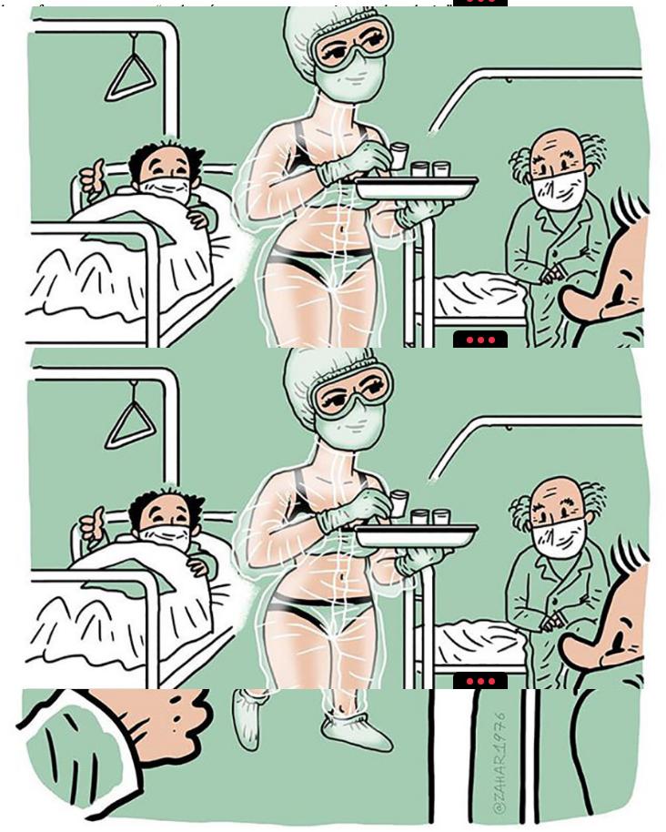 Se ha convertido en modelo famosa la enfermera rusa que causó furor en ropa interior en un hospital